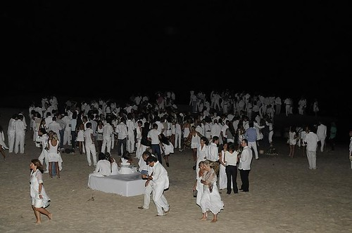 Fiesta de Blanco Chandon - Punta del Este