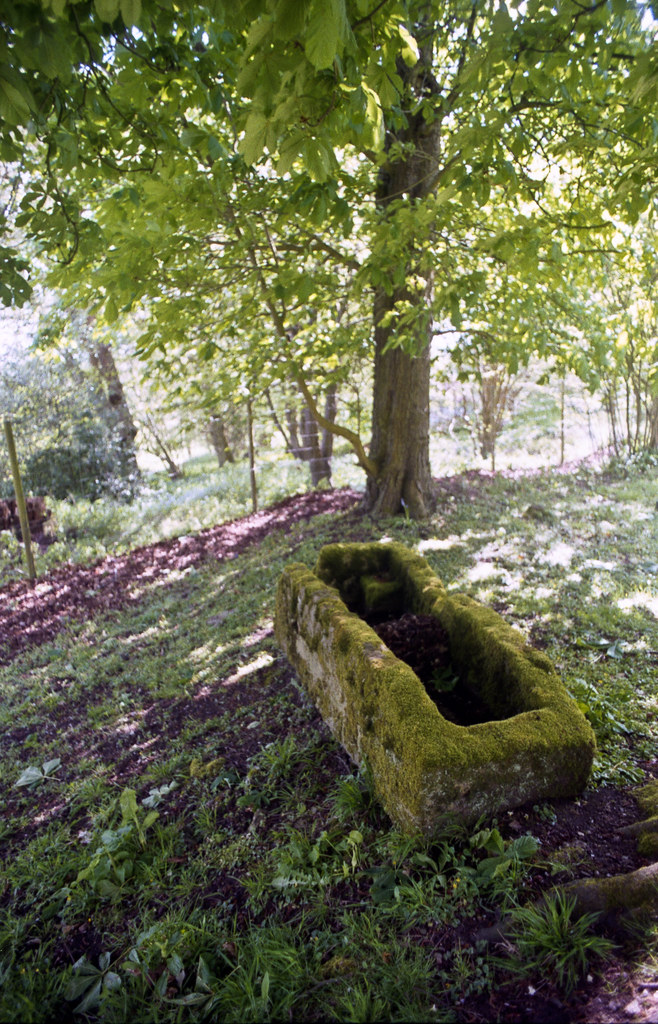 Stone coffin, St Nicholas, Ibstone