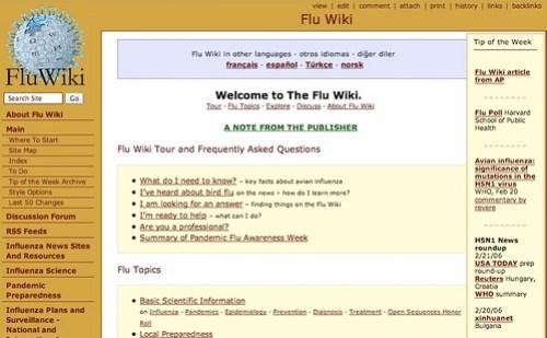 FluWiki is brilliant!
