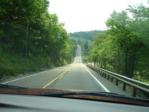 The long hard, road home, Pennsylvania.