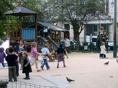 Photo of children playing in a park