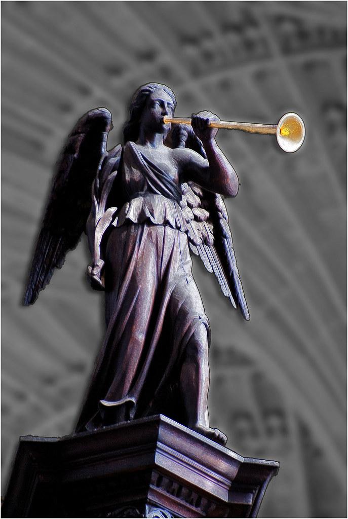 Kings College angel