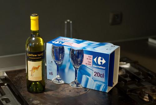 Wijn van de Carrefour