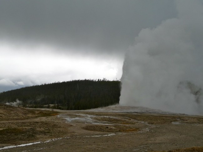 Obligatory shot of Old Faithful