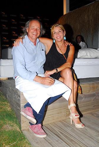 Francis Mallman y Marcela Tinayre