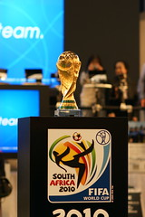 2010 ワールドカップ優勝トロフィー
