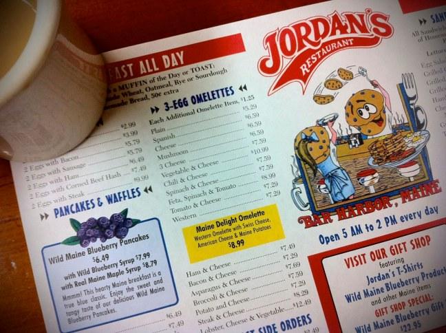 Jordan's in Bar Harbor, Maine
