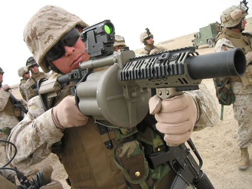 M32: The Six-Pack grenade launcher that shows no mercy