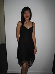 Xuan in new dress