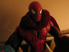 Spidey (and scarf) 2