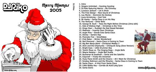 DJ Riko: Merry Mixmas 2005