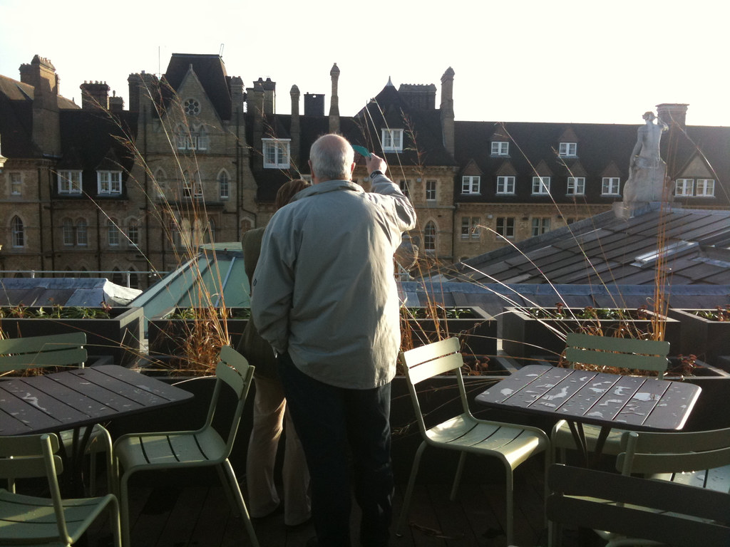 The new Ashmolean rooftop viewpoint