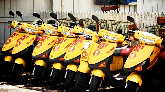 Moped rentals in Key West