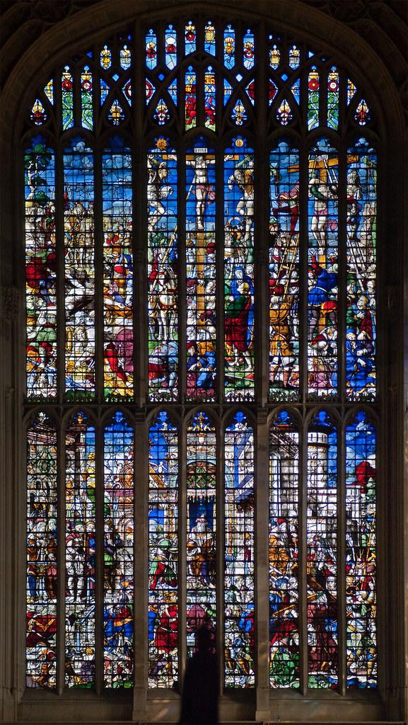East window, Kings College Chapel