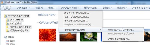 Windows Live Photo Gallary