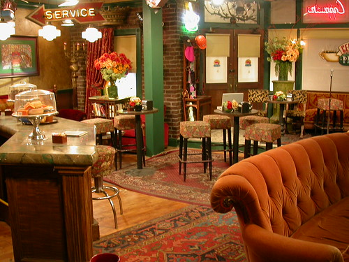 Really, this is the set of Friends