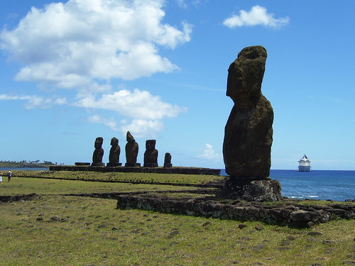 Moai at Rapa Nui