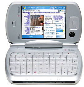 Pocket PC with the Opera browser