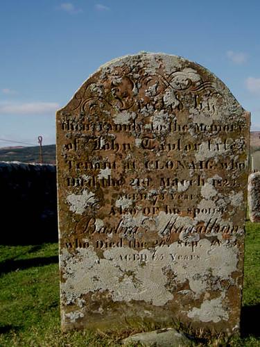 Skipness gravestone