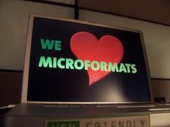 We Heart Microformats