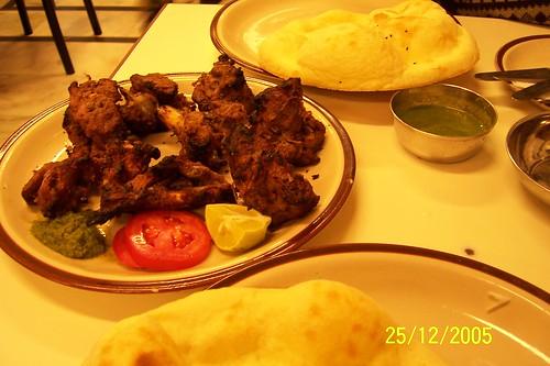 Mutton Burra and Tandoori Roti
