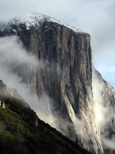 El Cap & Fog
