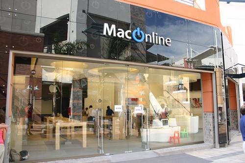 Mac Online pasa gato por liebre.