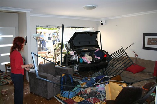 car in lounge