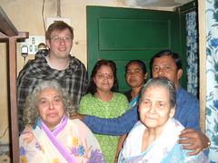 Me, Monica's Mum, Barnali, Kalpona, Anupam Shejomashi