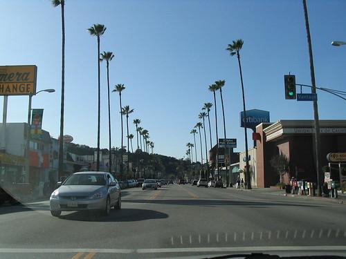 Venture Boulevard and Laurel Canyon