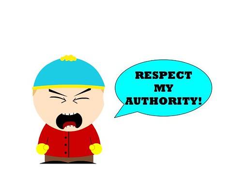 Respect Ma A-thoritay!