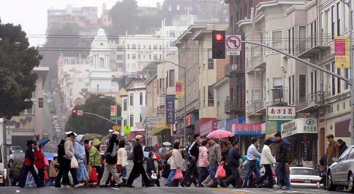 Chinatown Pedestrians