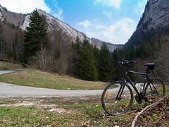 Descending Col de la Cluse