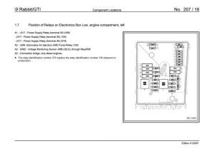 Fourtitude  MKV Fuse Panel Diagram