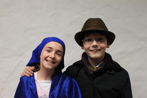Maria & Josef, Fotoshooting