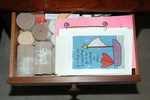 Inside my nightstand
