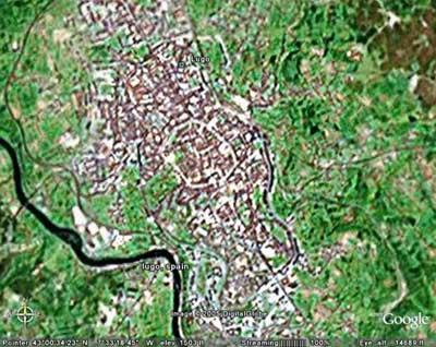 lugo-google-earth