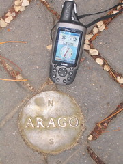 Picture of a global positioning system (GPS) receiver