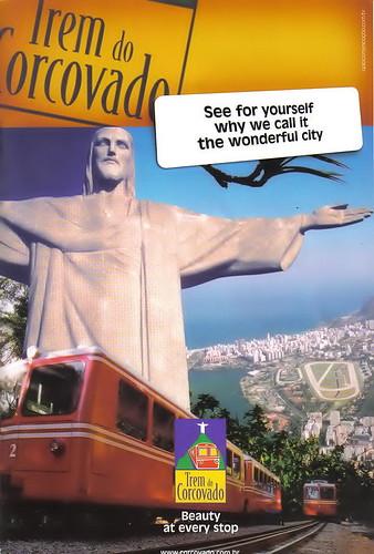 Publicidad del Corcovado