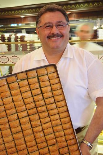 Proud owner of Karakoy Gulluoglu