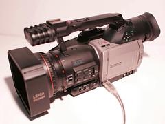 Panasonic AG-DVX100 with Andromeda