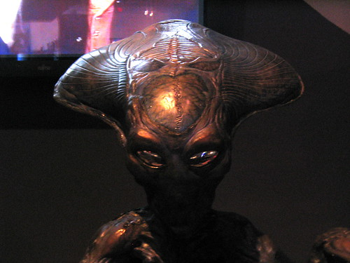 Close-up of alien from Independence Day