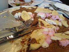 Max Brenner's Chocolate Pizza