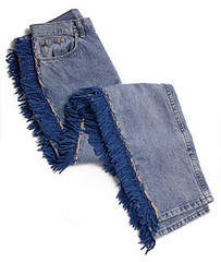 Fringe Jeans