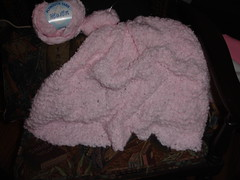 Baby Blanket I'm Knitting for My New Neice