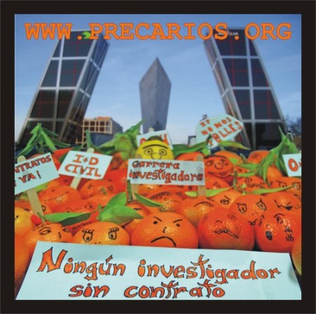 Manifestación de naranjas Madrid 3