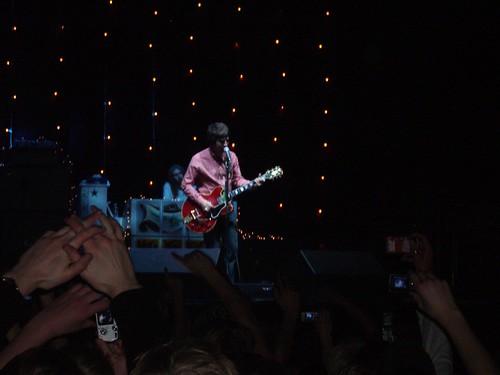Noel Gallagher en acción