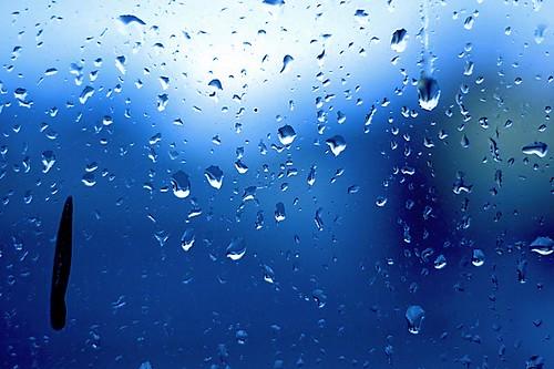 Rain, new year's day