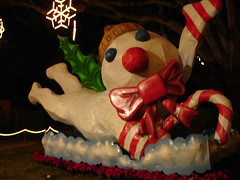 Mr. Bingle at Celebration in the Oaks, New Orleans City Park