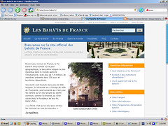 Site web des bahá'ís de France